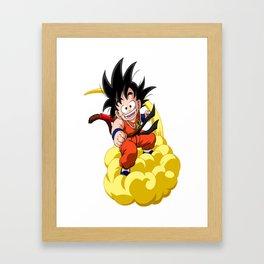 dragon ball/ kid_goku Framed Art Print