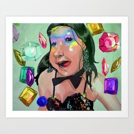 Jewel Tone Art Print