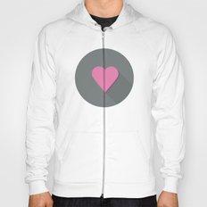 Flat heart Hoody