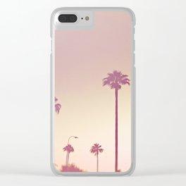 A day in Cali Clear iPhone Case