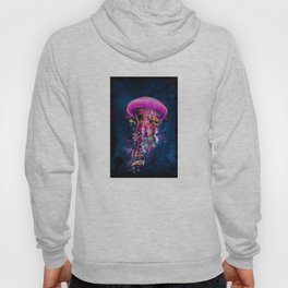 Pink Electric Jellyfish Hoody