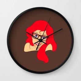 Hipster Ariel Wall Clock