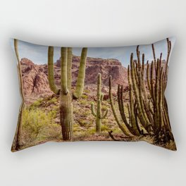 Cacti Variety Rectangular Pillow