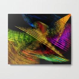 solvente cum coloribus Metal Print