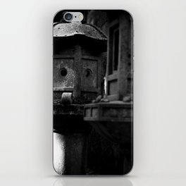 Japanese Stone Lanterns iPhone Skin