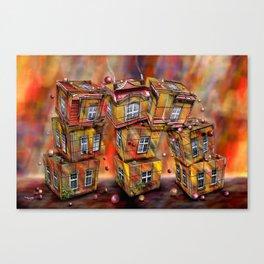 Toyhouse 2 Canvas Print