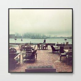 Boston Fog Metal Print