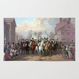 General Washington Enters New York Rug