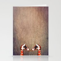 twins Stationery Cards featuring twins by Steffi Louis