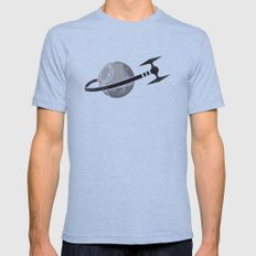 Empire Classic Space Mens Fitted Tee MEDIUM Tri-Blue
