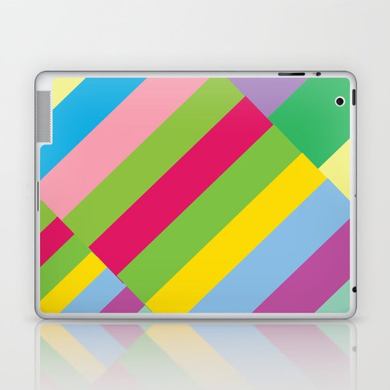 Stairs to Office  [COLORS] [COLOR] [COLORFUL]  Laptop & iPad Skin