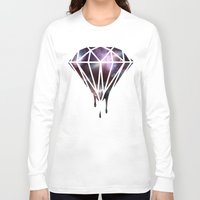 diamond Long Sleeve T-shirts featuring Diamond by jeff'walker