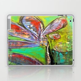 Green Dream original art from Stacey Brown Laptop & iPad Skin
