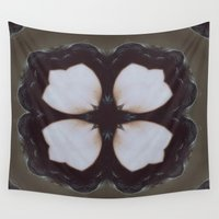 clover Wall Tapestries featuring Living Clover by VividPanorama