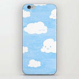 Weekends and Clouds iPhone Skin