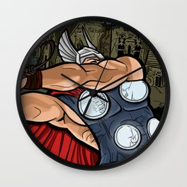 The Mighty Thor, God of Thunder Wall Clock