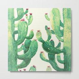 huge twin cactus Metal Print