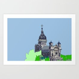 Basilica of St. Mary - Minneapolis, Minnesota Art Print