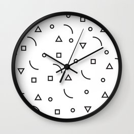 Papelillos  Wall Clock