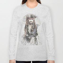 Cpt. Jack Sparrow 2 Long Sleeve T-shirt
