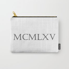 Roman Numerals - 1965 Carry-All Pouch