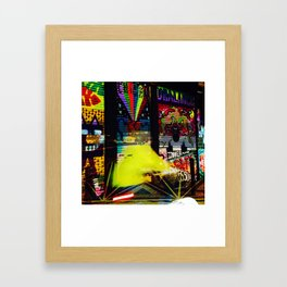 Fluorescence Framed Art Print
