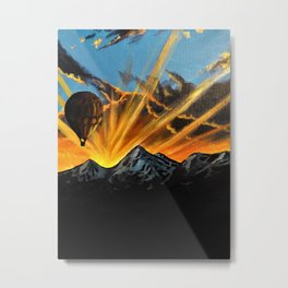 Floating Dream Metal Print