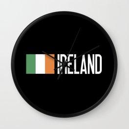 Ireland: Irish Flag & Ireland Wall Clock