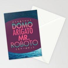 Domo Arigato Mr. Roboto Stationery Cards