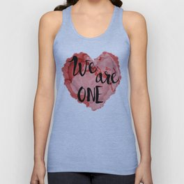 We Are One -Global Community Unisex Tank Top