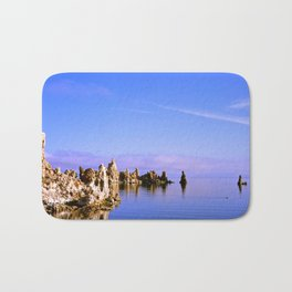Reflections at Mono Lake Bath Mat