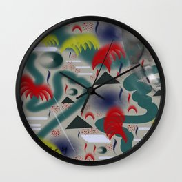 Homage to Balzac n.2 Wall Clock