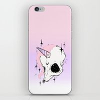 unicorn iPhone & iPod Skins featuring UNICORN *:・゚✧ by lOll3