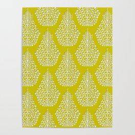 SPIRIT lime white Poster