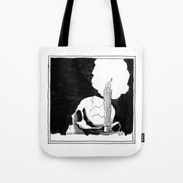 Waxy McSkull Squared XL Tote Bag