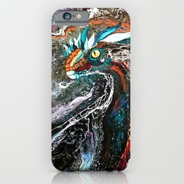 Colorful dragon iPhone Case