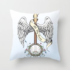 I'll Fly Away Throw Pillow