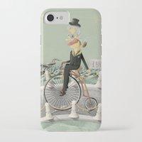 gentleman iPhone & iPod Cases featuring Gentleman by Cacho de Colegiales