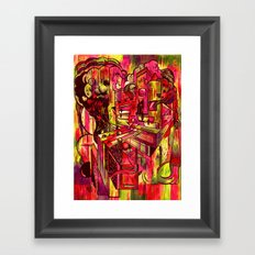 Sunrise At The Castle Of Terror And Syrup Framed Art Print