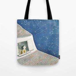 Dreamy night Tote Bag