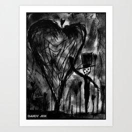 Strange Kind of Love Art Print