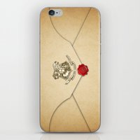 targaryen iPhone & iPod Skins featuring HARRY POTTER ENVELOPE by Sophie