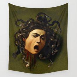 Carvaggio - Medusa Wall Tapestry