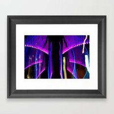 Experiments in Light Abstraction 2 Framed Art Print