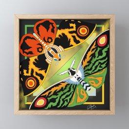 Mothra Legacies Framed Mini Art Print