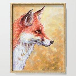 Fox Serving Tray