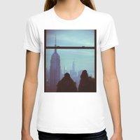 manhattan T-shirts featuring Manhattan by Mt Zion Press