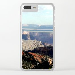 The Rim Near Sunset Clear iPhone Case