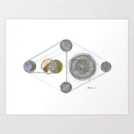 Initial Thoughts on Infinity Art Print