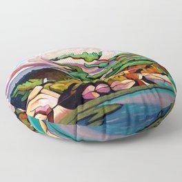 Juniper Islet by Amanda Martinson Floor Pillow